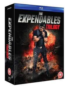The Expendables Trilogy [Blu-ray] für 10,94 € bei zavvi.de