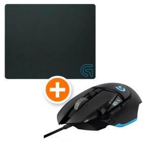 [Notebooksbilliger.de] Logitech G502 Proteus Core USB Gaming Maus und Logitech Gaming Mauspad G240 für 57,90 inc. Versand