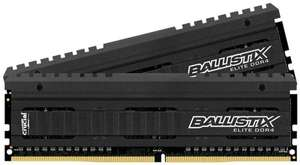 [amazon.co.uk] Crucial Ballistix Elite 16GB DDR4 Kit (2x 8GB, 2666 MHz)