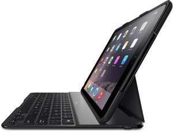 [Amazon.it] Belkin QODE Ultimate Tastatur mit Hülle (für das iPad Air 2) schwarz für 27,12€