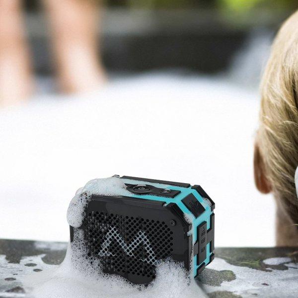 Wasserdichter und Stoßfester (IP65) Bluetooth 4.0 Lautsprecher 5W mit 1000mAh @amazon