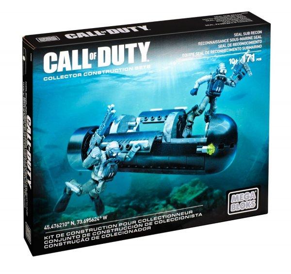 (Amazon Prime) Mattel Mega Bloks CNG80 - Call Of Duty - Seal Sub Recon für 9,37 EUR