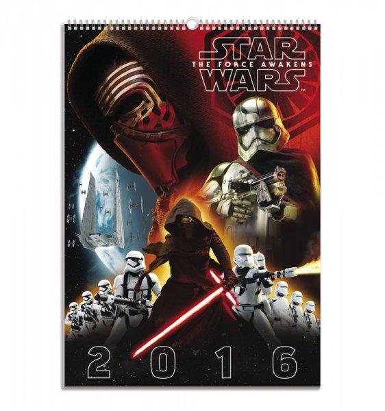 Star Wars Episode 7 Offizieller Film Kalender 2016 6,88 EUR