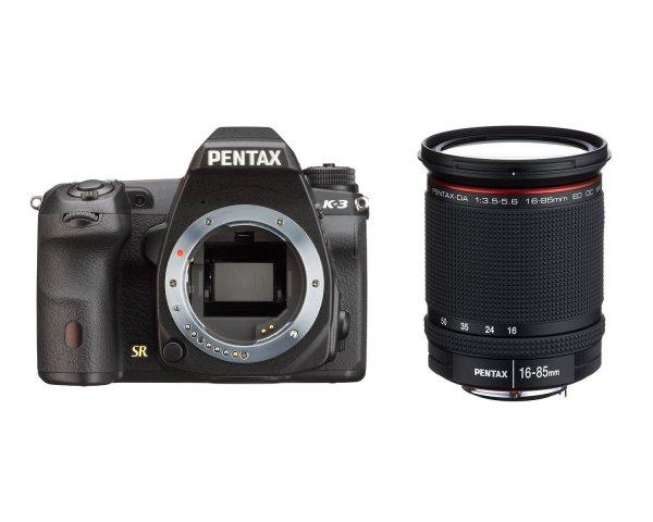 Pentax K-3 inkl. Pentax HD DA 16-85mm f3.5-5.6 ED DC WR für 1.005,74€ bei Amazon.fr