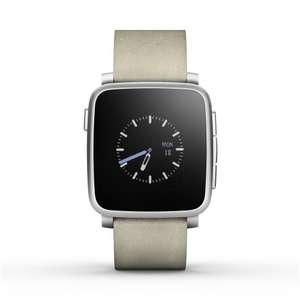 [Amazon.co.uk] Pebble Time Steel Smartwatch für 227,48€