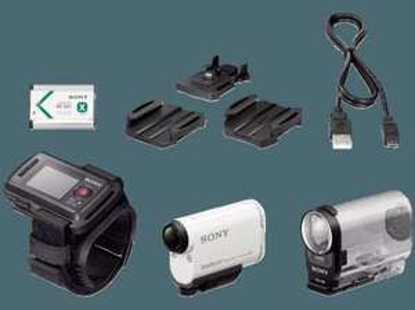 [AMAZON.FR] SONY HDR-AS200 VT.CEN Travel Action Cam + Zubehör
