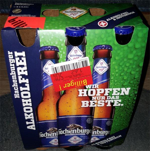 [LOKAL] Kaufland Siegen -Hagener Str- Sixpack Hachenburger Pils/Hachenburger Alkoholfrei für 1,62€