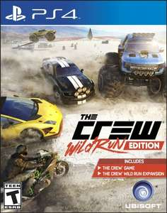The Crew: Wild Run Edition (PS4 / Xbox One) für 25€ bei Amazon.com