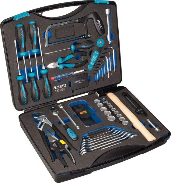 [Amazon] Hazet Werkzeugkoffer 1520/56 für 91,06 € / nächster Idealo 484,61 €