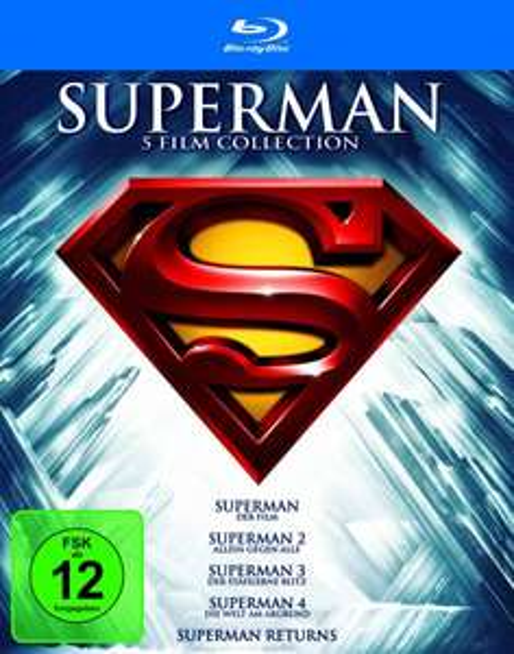 Superman - Die Spielfilm Collection [Blu-ray] für 13,99€ bei Amazon (Prime)