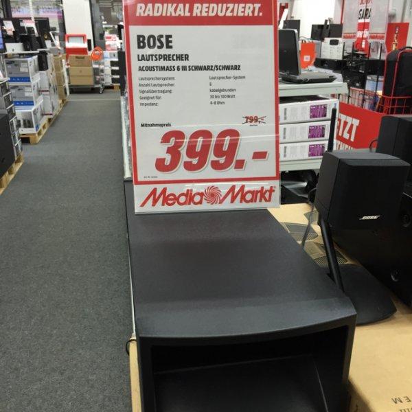 Lokal MM Bischofsheim Bose Acoustimass 6 III für 399€ statt 699€