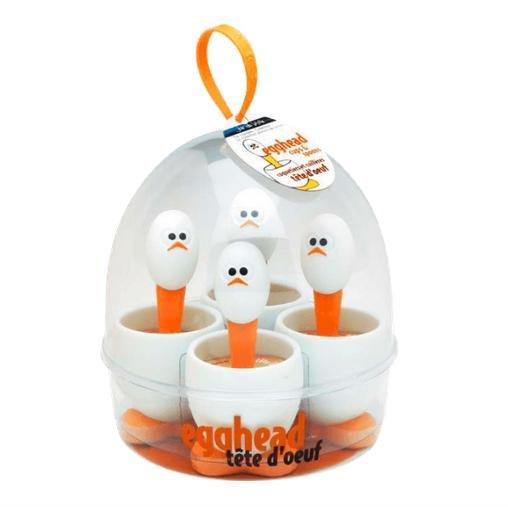 Eierbecher mit Löffel 4er Set für 11€ bei Media Markt