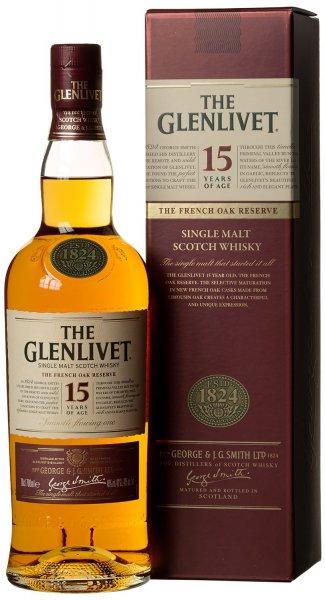[AMAZON]  The Glenlivet 15 Jahre Single Malt Scotch Whisky (1 x 0.7 l)  - 31,90