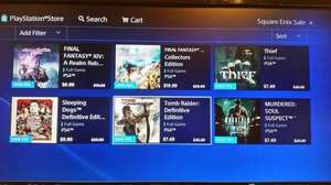 PlayStation US-Store Deals