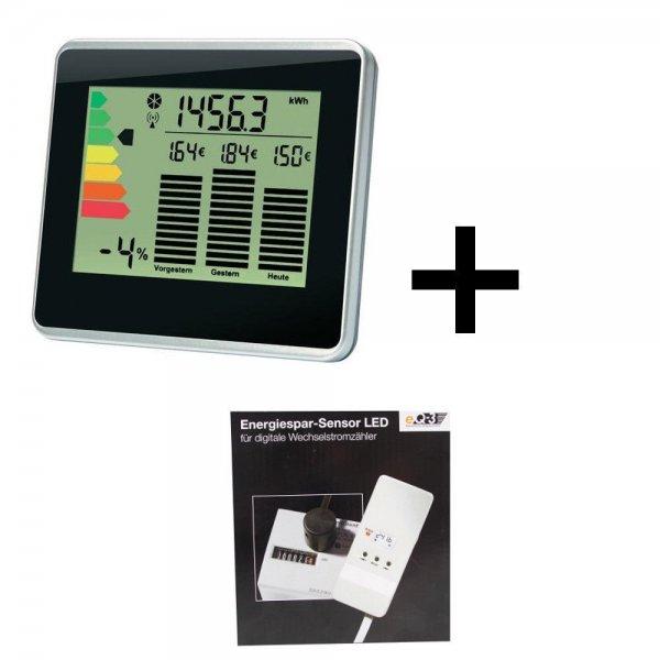 EQ3 Set zur Stromverbrauchskontrolle Energie-Ampel + Sensor LED B-Ware @eBay