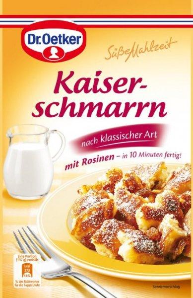 Dr. Oetker Kaiserschmarrn, 14er Pack für 7€