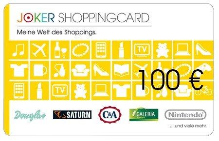 Gut 4% Rabatt auf Amazon, Zalando und andere Geschenkgutscheine bei Joker Online Shopping Code Aktion