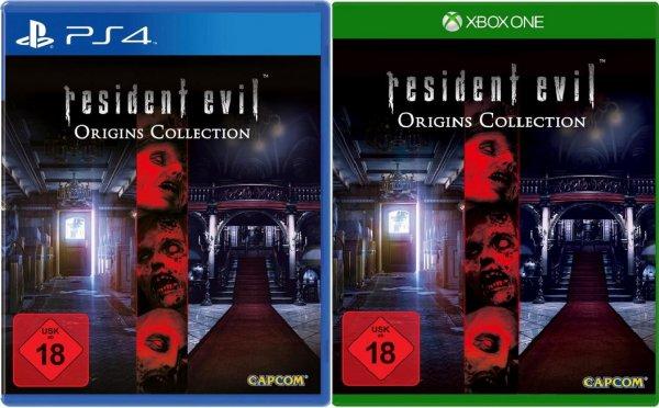 (Saturn.de) Resident Evil - Origins Collection (Xbox One / PS4) für 29,99 EUR