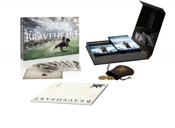 (Amazon.fr) Braveheart (Limited Edition Giftset) [Blu-ray + DVD] für 29,17 EUR