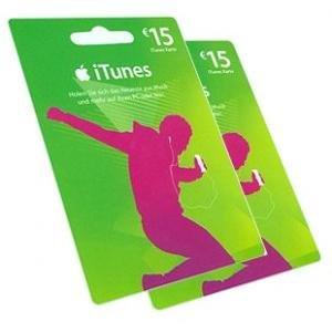 iTunes Karten 15 für 10 oder 25 für 20 am Infopoint der Ruhr-Uni-Bochum [Lokal]