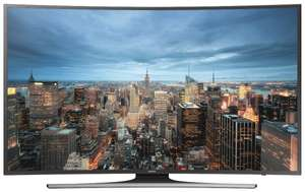 Samsung UE48JU6550 121 cm (48 Zoll) Curved Fernseher (Ultra HD, Triple Tuner, Smart TV) [Energieklasse A]