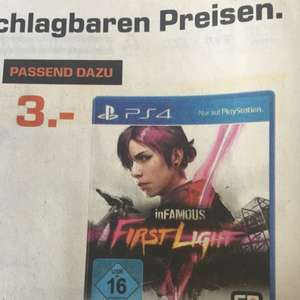 [Lokal Saturn Trier] inFamous First Light Ps4