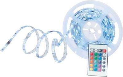 (Wieder da) 2 x LED-Dekoleuchte Karl (5m LED-Band mit Netzteil, Fernbedienung, Verbindungsstücke) für 24,12 € @ moemax.de