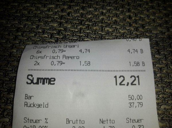 [Kaufland Bergkamen] Funny Frisch Chips versch. Sorten 0,79€