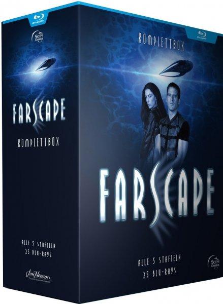 Farscape - Verschollen im All - Komplettbox (Blu-ray) für 55,60€ bei Thalia.de