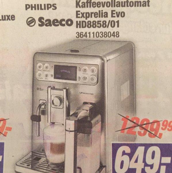 [Expert Klein]Philips Saeco Exprelia Evo HD8858