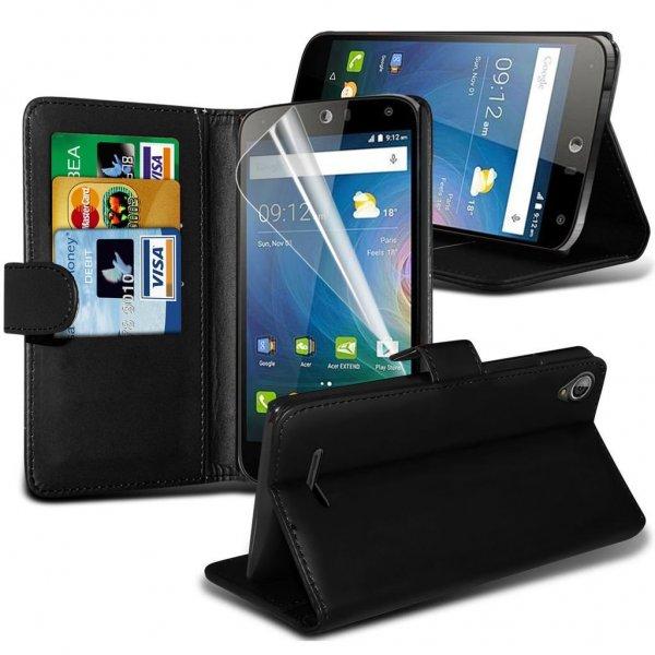Amazon : Fone-Case High Quality Black Acer Liquid Z630 Hülle - Nur 4,15 € statt 15,99 € - Farbe black