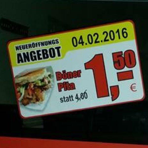 [Achim bei Bremen] Döner Pita für 1,50 bei Berlin Döner