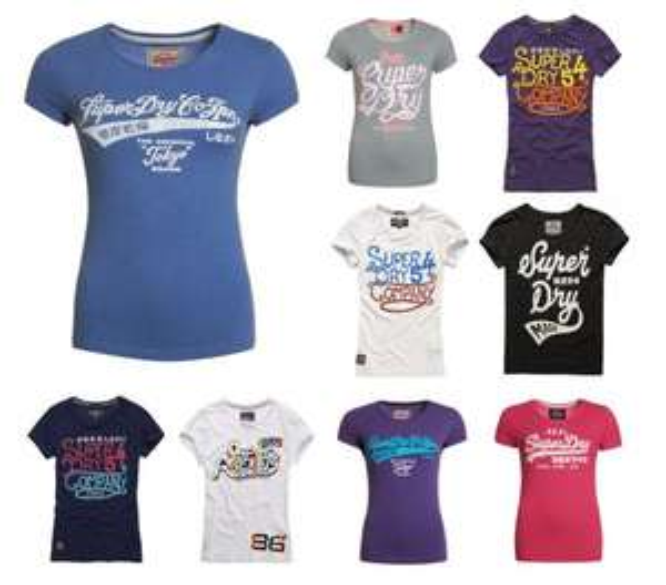 [Ebay WOW] Viele verschiedene Superdry Damen T-Shirts - 13,95€
