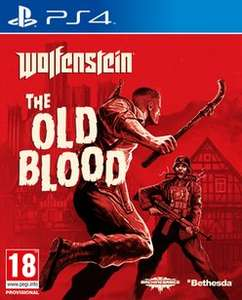 (UK) Wolfenstein: The Old Blood [PS4/XboxOne] für ca. 13,04€ @ Game