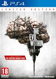 (UK) The Evil Within Limited Edition [Xbox/PS4]  für ca. 15,76€ @ Game
