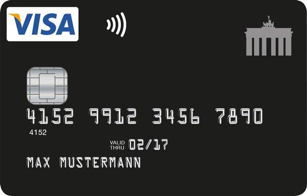 """Bis 31.03.: 30€ Startguthaben für dauerhaft grundgebührfreie VISA Card """"Deutschland-Kreditkarte"""""""
