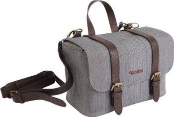 ROLLEI 20244 Vintage Tasche für Systemkameras und spiegellose Kameras (Farbe: Grau) für 24,99€ + 4,99€