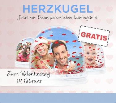Herzkugel mit Foto eurer Wahl (Nur VSK zahlen )