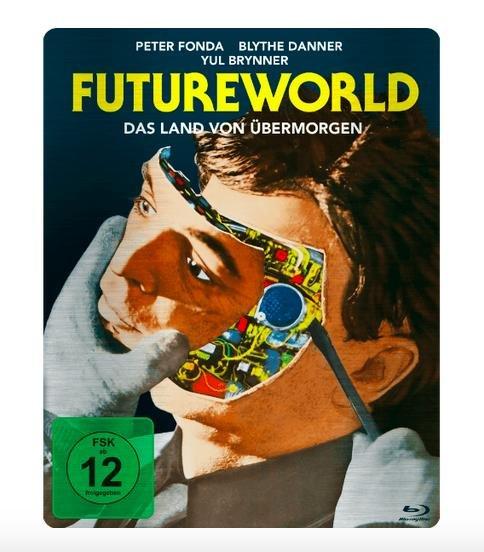 Futureworld - Das Land von übermorgen (Steelbook) - (Blu-ray) für 7,99€ bei Saturn