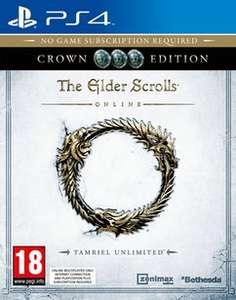 The Elder Scrolls Online: Tamriel Unlimited Crown Edition (PS4) für 19,48€
