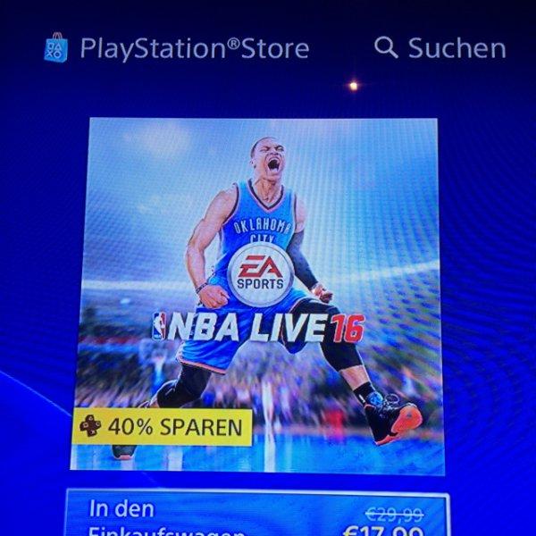 NBA Live16 EA Sports