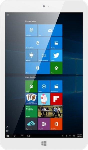 [NBB] MP Man MPW815 weiß Tablet (8'' HD IPS-Display, Intel Atom Quad-Core, 2GB RAM, 32GB Flash, Windows 10