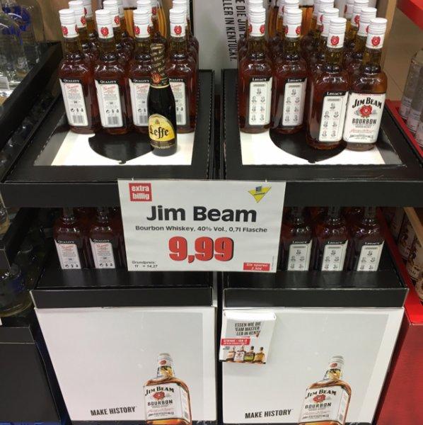 (Lokal Berlin) Moa-Bogen Edeka - Jim Beam Bourbon & Captain Morgan