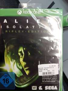 [lokal Augsburg] Xbox One Alien Isolation - Ripley Edition bei Saturn
