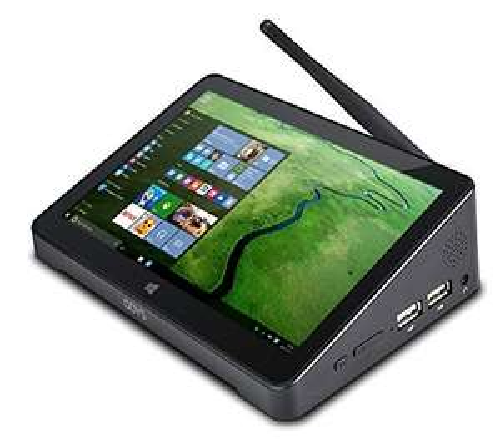 Odys WinBox - All-in-One-Mini-PC mit Atom Z3735F, 2GB RAM, 32GB Flash, Gbit-LAN, WLAN, 7 Zoll IPS-Touchscreen, Windows 10 für 149€ bei Amazon