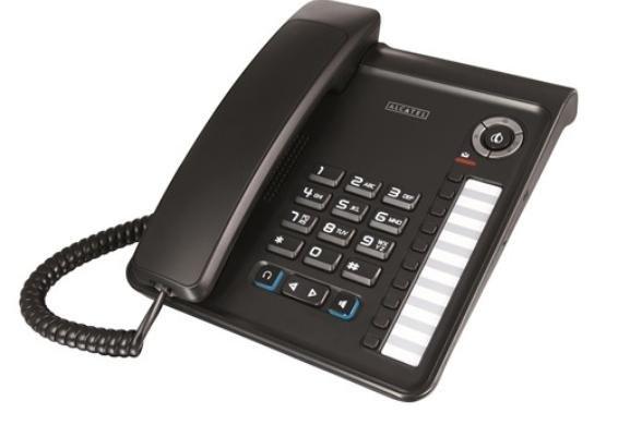 Alcatel Temporis 350 schnurgebundenes Analog (Senioren-) Telefon, Headset-Option