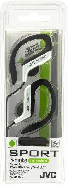 "JVC™ - In-Ear-Clip Kopfhörer ""HA-EBR80-S"" (Silber,inkl.Mikrofon) für €9,90 [@Null.de]"