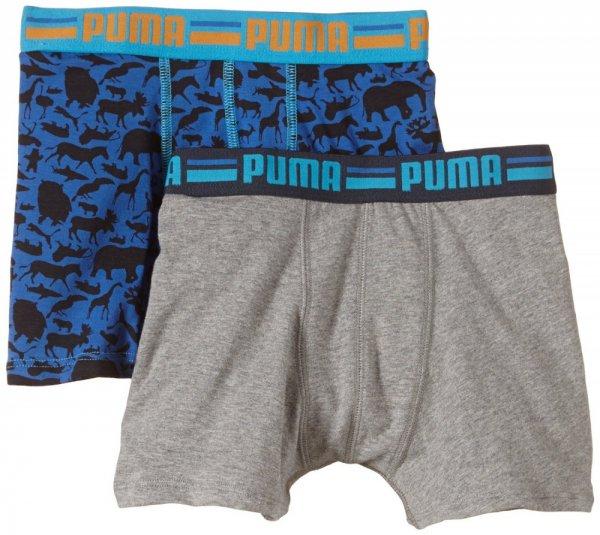 4er Pack PUMA Kinder Boxershorts Jungen für 7,46 € @ outlet46.de