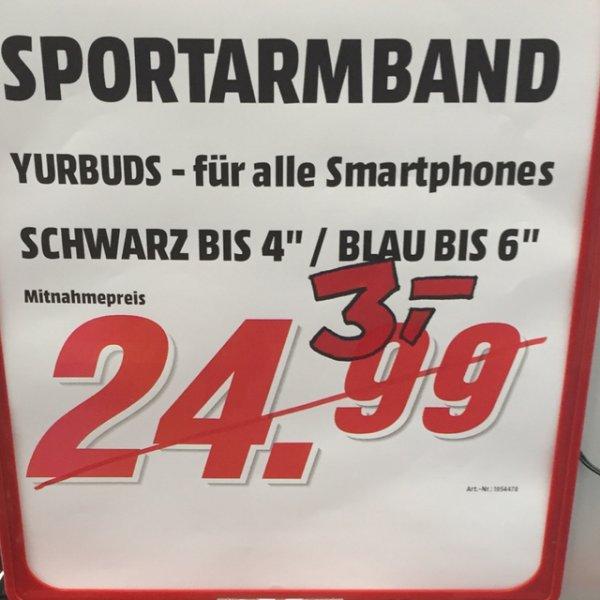 [MM Düsseldorf] yurbuds sportarmband 3 Euro, GoPro Hero + lcd 197,-