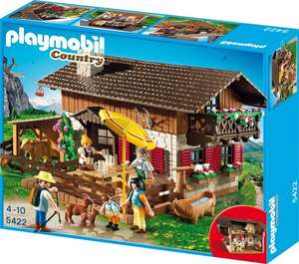 (Amazon und Kaufhof) PLAYMOBIL 5422 - Almhütte für 29,99 EUR